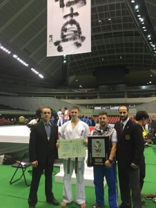 48th All Japan Open Karate Tournament.